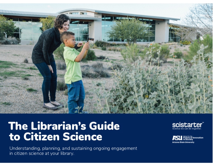 Citizen Science Guide for Libraries Available Now