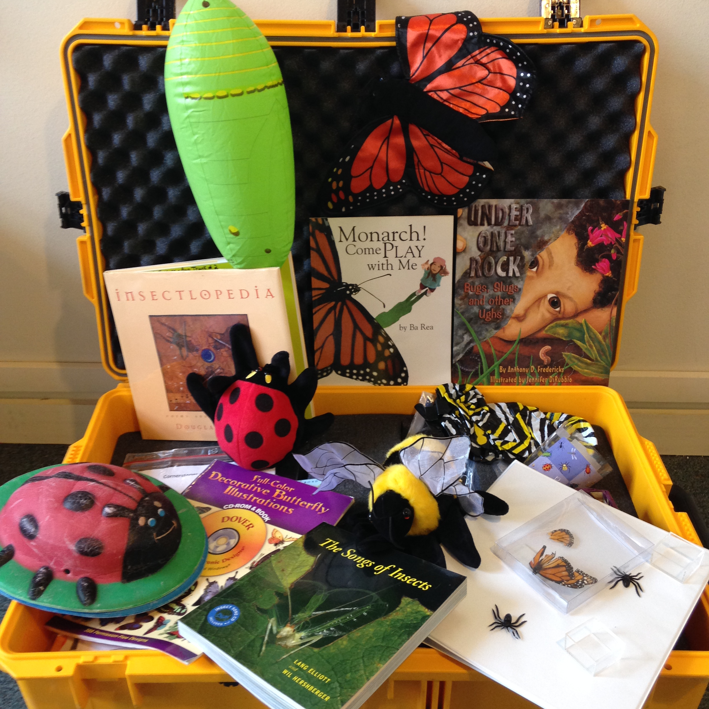 CoS Bug and Butterfly Science Trunk