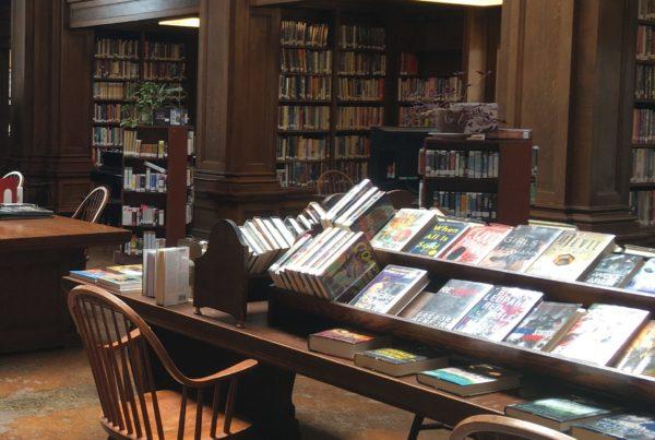 Jesup Memorial Library Interior