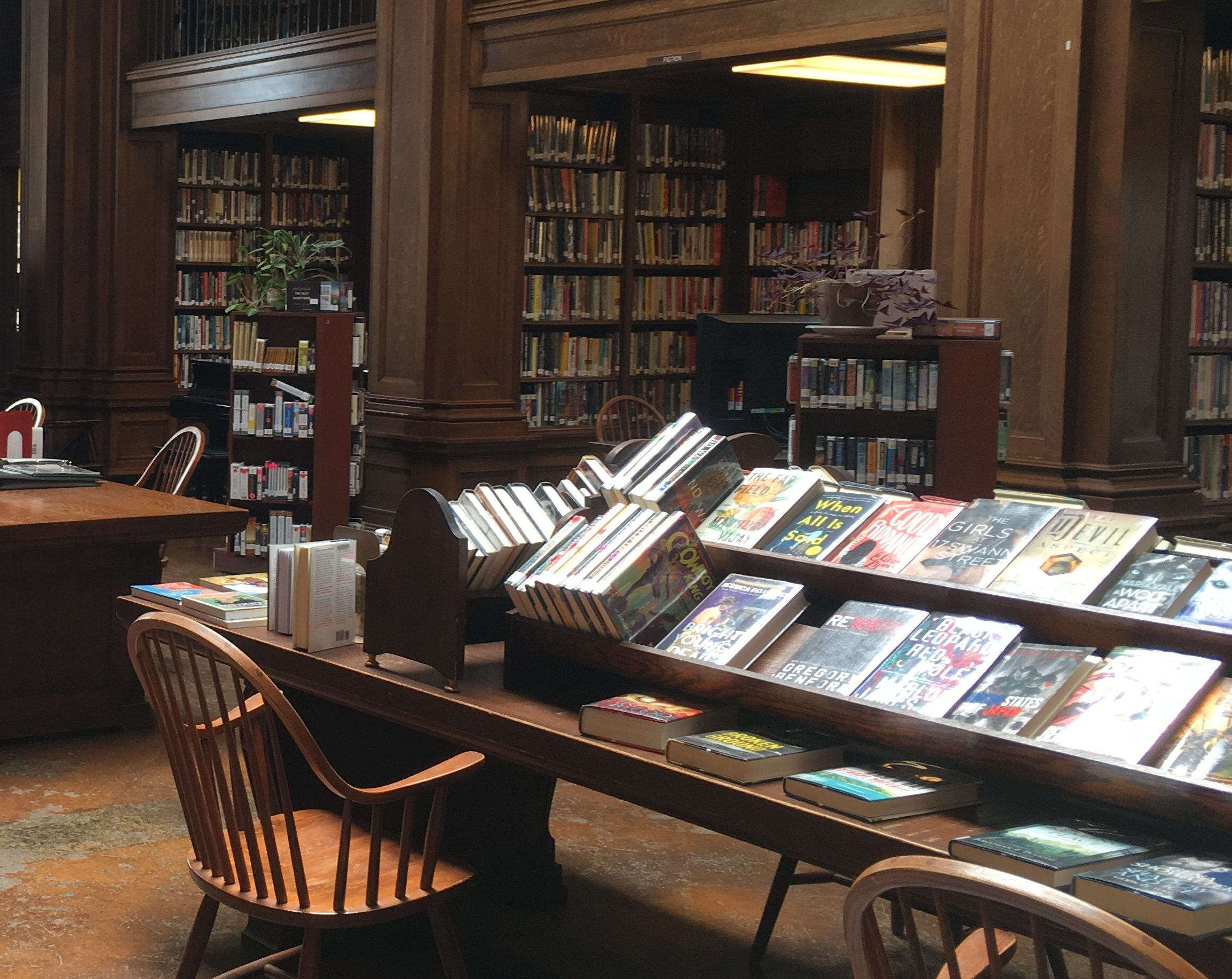 Jesup Memorial Library Interior