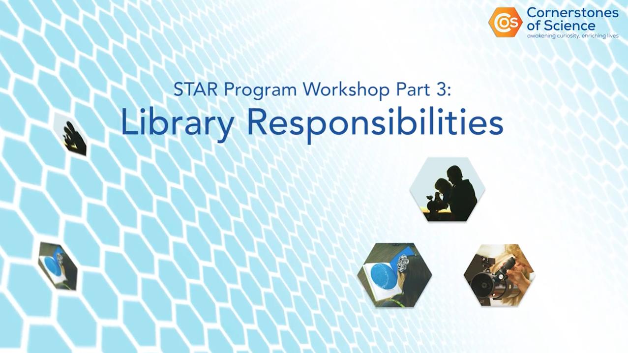 Title Card of STAR Program Workshop Part